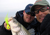 Brandon White Spencer White Founders of Lateral Line Technical Year Round Fishing Clothing Company and 2% for the Fish and the Lateral Line Foundaiton